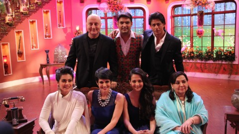 DDLJ cast on the set of Comedy Nights With Kapil