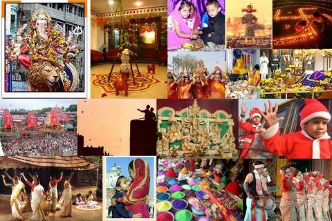 Diversity of Festivals in India