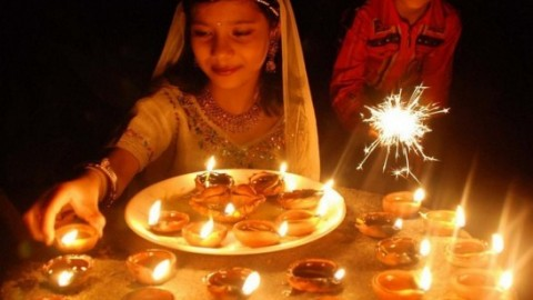 A delightful Diwali to you! From around the world, with love