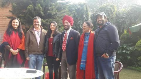 Milkha Singh's special invite to Team Saala Khadoos