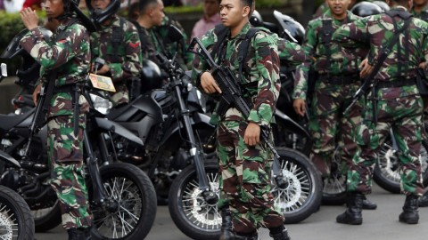 6 lives claimed and 10 injured in a Paris style attack in Jakarta
