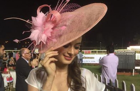 Evelyn Sharma spotted at the First Night Racing Season