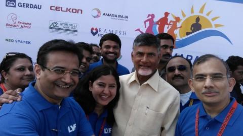 Jio begins its Digital Run with Amaravati Marathon
