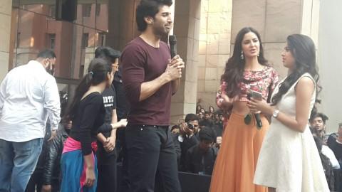 Aditya and Katrina's Fitoor in Delhi