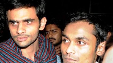 Delhi Court extends custody of Umar Khalid and Anirban Bhattacharya