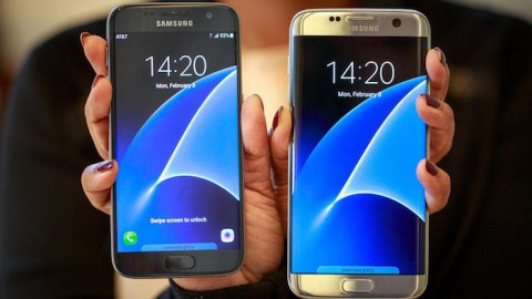 Samsung launches the S7