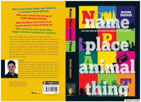 Book Review: Name Place Animal Thing by Mayank Shekhar