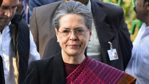 BJP SEEKS TO TARGET SONIA GANDHI IN TODAY'S CONGREGATION
