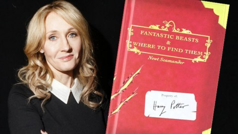 Fantastic Beasts and Where to Find Them by J.K Rowling