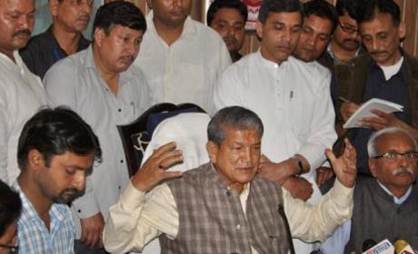Harish Rawat calls for referendum to prove majority