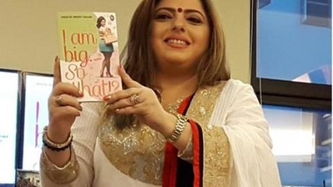Actress Delnaaz Irani launches Shuchi Kalra's book