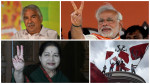 BJP dethrones Congress in Assam and Left wins Kerala, while  Jayalalitha and Mamata retain power in their states
