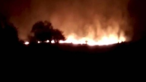 20 ARMY OFFICIALS WERE KILLED AND MORE THAN 19 INJURED IN MAJOR FIRE IN WARDHA