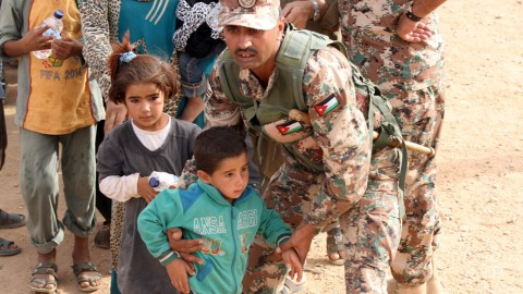 Jordan seals border after suicide bombings