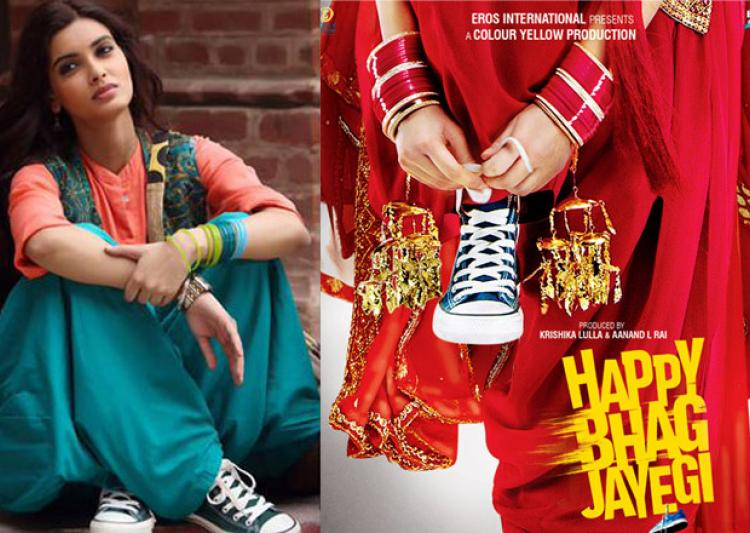 Motion poster of Happy Bhag Jayegi got out