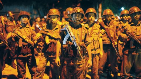 6 TERRORISTS KILLED, 20 CIVILIANS DEAD AND 13 HOSTAGES RESCUED IN DHAKA