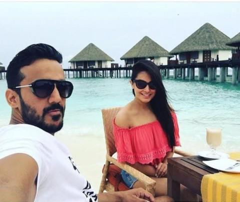Second-Honeymoon for the actress: Anita Hasnandani