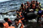 Six missing as boat turns upside down near Greece