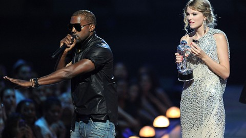 KIM AND KANYE VS TAYLOR SWIFT; THE FEUD IS BACK ON