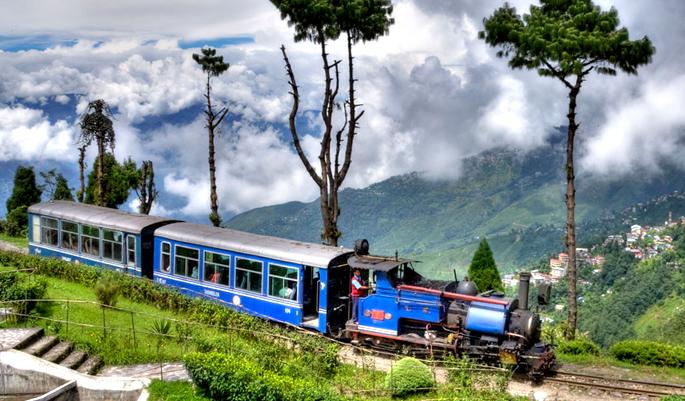 Siliguri to Darjeeling, India toy train