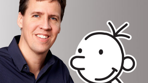 'Wimpy Kid' author Jeff Kinney will visit India in December