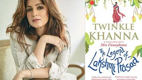 Twinkle Khanna's second book 'The Legend of Lakshmi Prasad' hits the store