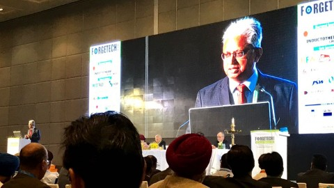 "Gerdau participates in FORGETECH INDIA 2016 to promote ""Forging through Unity"""