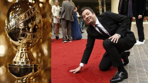 Jimmy Fallon gears up as host for the first year at Golden Globes