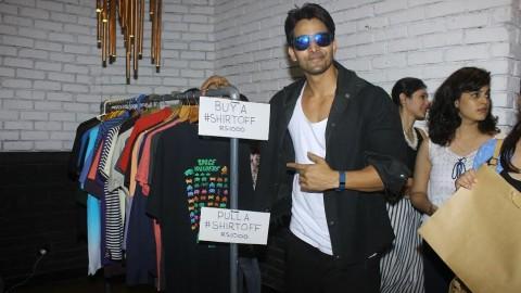 Harshvardhan Rane hosts garage sale in Mumbai!