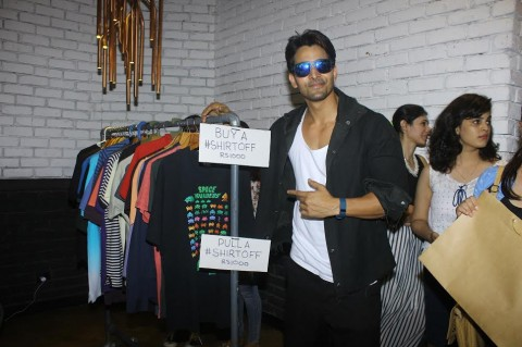 Harshvardhan Rane hosts garage sale in Mumbai!