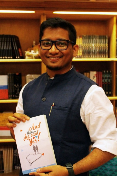An evening with author Rajarshi Motilal