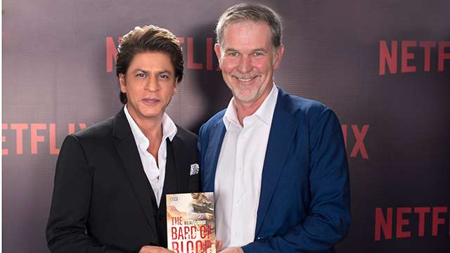 SRK's production house and Netflix to collaborate for 'Bard of Blood'