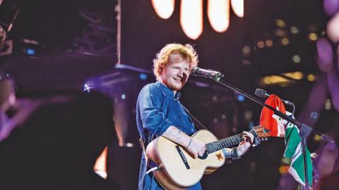 Mystery behind Ed Sheeran's Blue Kurta: SOLVED
