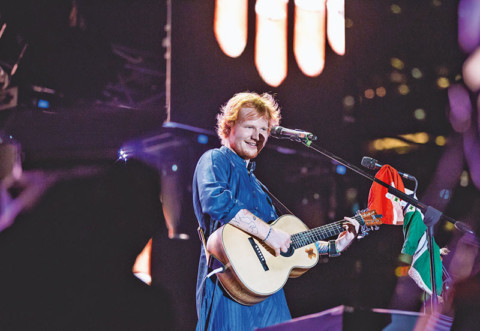 Mystery behind Ed Sheeran's Blue Kurta: SOLVED
