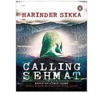 Calling Sehmat by Harinder Sikka