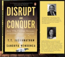 Disrupt and Conquer by Sandhya Mendonca & T.T. Jagannathan